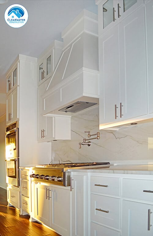 white kitchen cabinets Primrose Craftsman