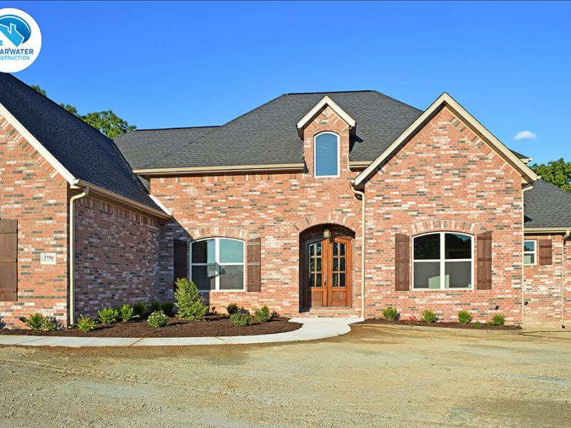 brick house home builder Northwest Arkansas